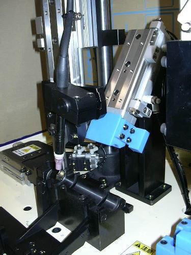 Tig溶接カシメ機